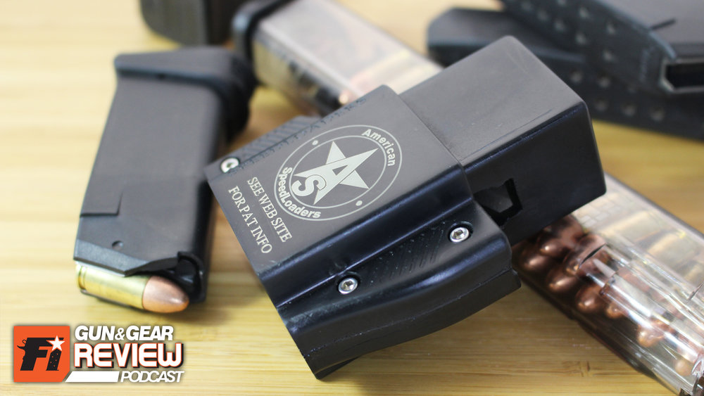 Obviously the speedloader works with all doublestack Glock magazines, even the ETS clear ones.