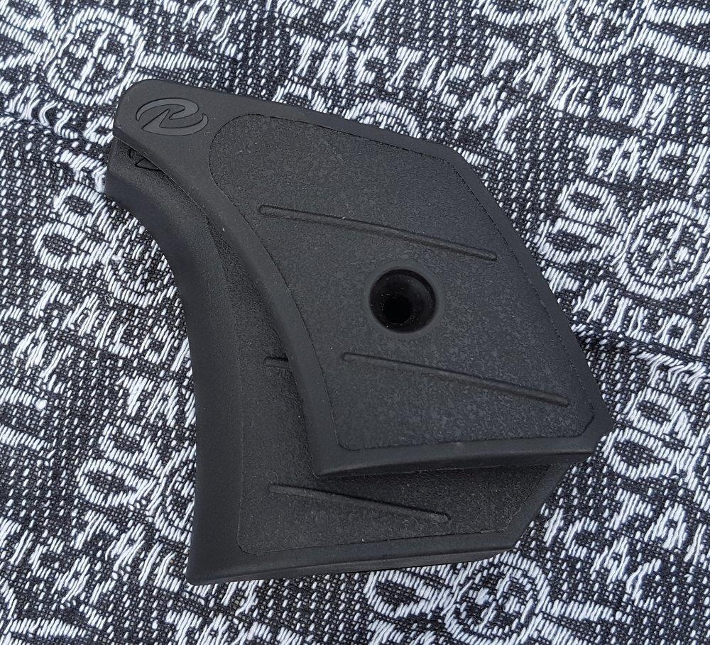 Target grip behind standard grip