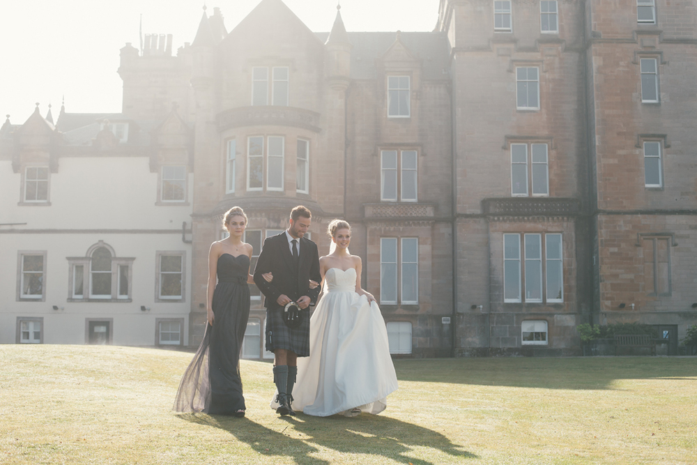 Natural and relaxed documentary wedding photography in Scotland and worldwide