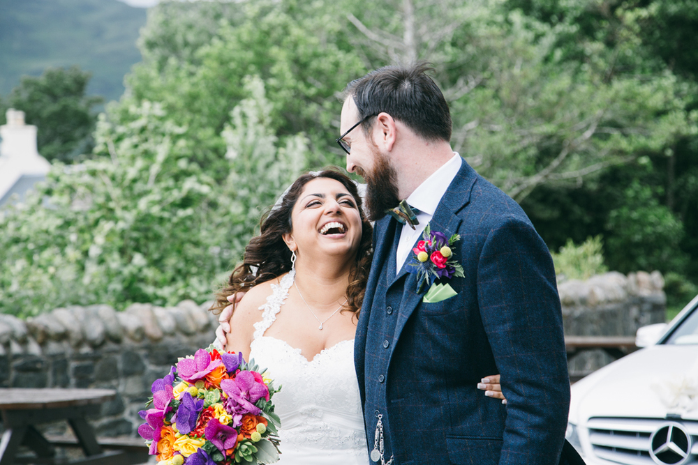 alternative and documentary wedding photography around scotland and on skye