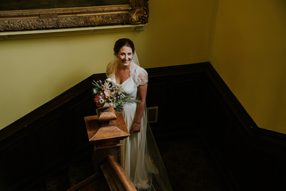 wedding photographer in stonefield castle