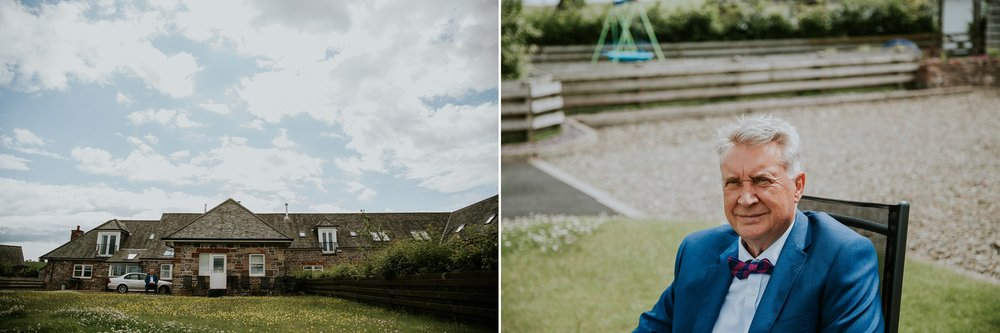 glasgow alternative wedding photographer, killearn village hall wedding