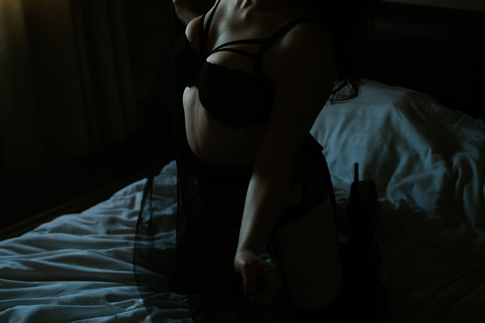Boudoir photography in Glasgow