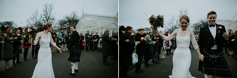 Kibble palace Glasgow botanic wedding, Oran Mor wedding, In the Name of Love Photography
