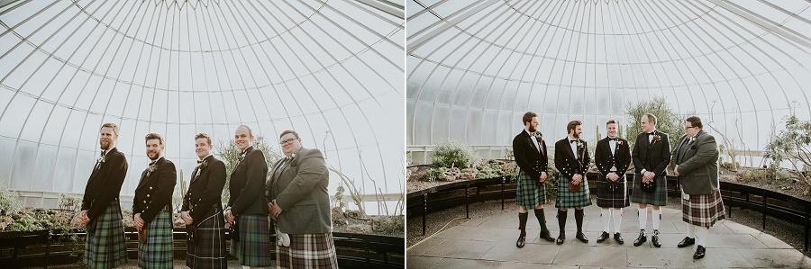 Botanic Garden & Kibble Palace Glasgow Wedding Photographer