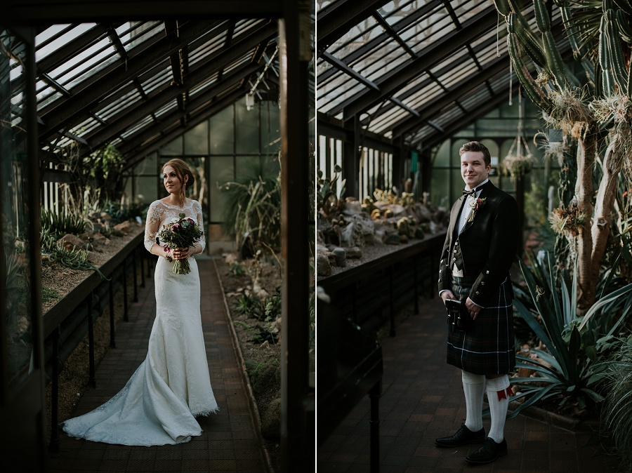 Kibble palace Glasgow botanic wedding, Oran Mor wedding photographer, In the Name of Love Photography