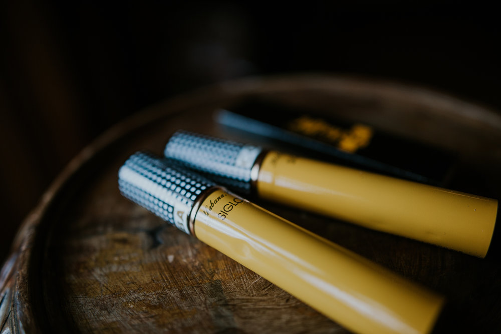 Havana cigars.