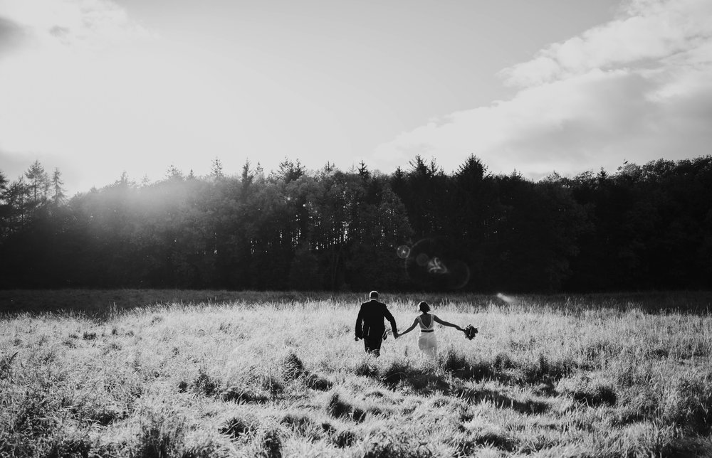 Edinburgh wedding and elopement photographer, Dalhousie castle.