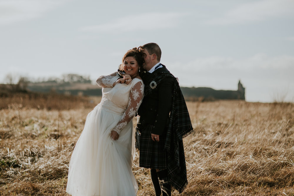 Glasgow creative wedding photographer