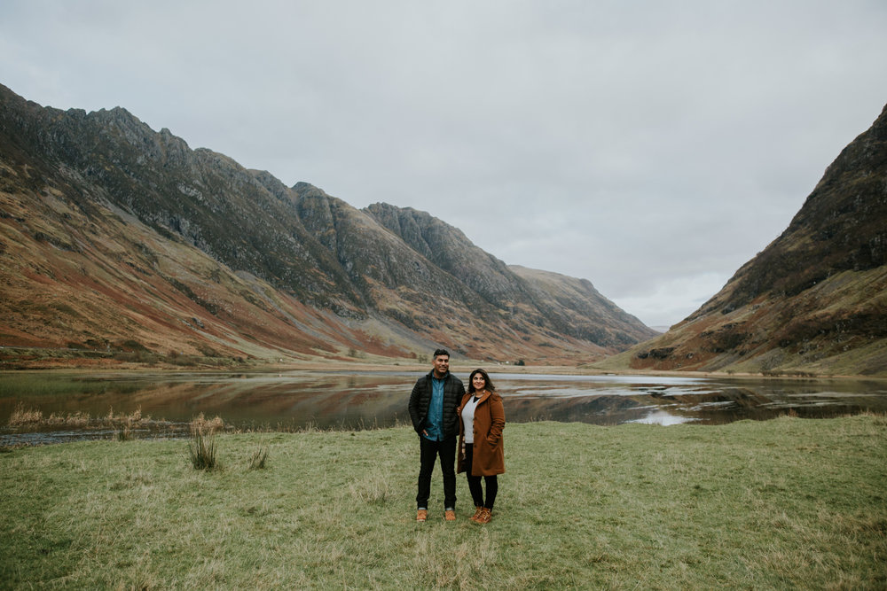Alternative wedding photography in Glencoe, Scotland