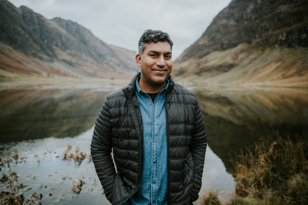 Groom's portrait in Glencoe, Scotland