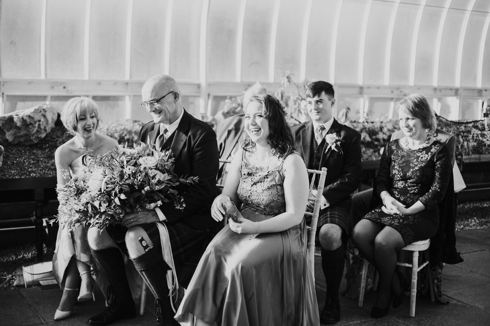 Quirky wedding photographer in Glasgow