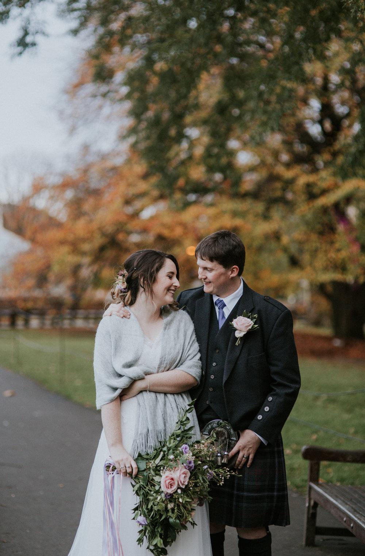 Artistic Scottish wedding photographer in Glasgow and Edinburgh