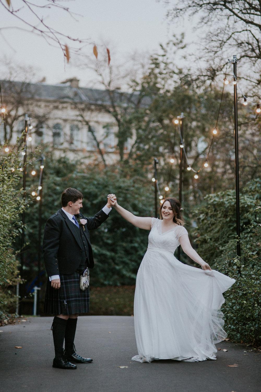 Contemporary wedding photography in Scotland, Glasgow and Edinburgh
