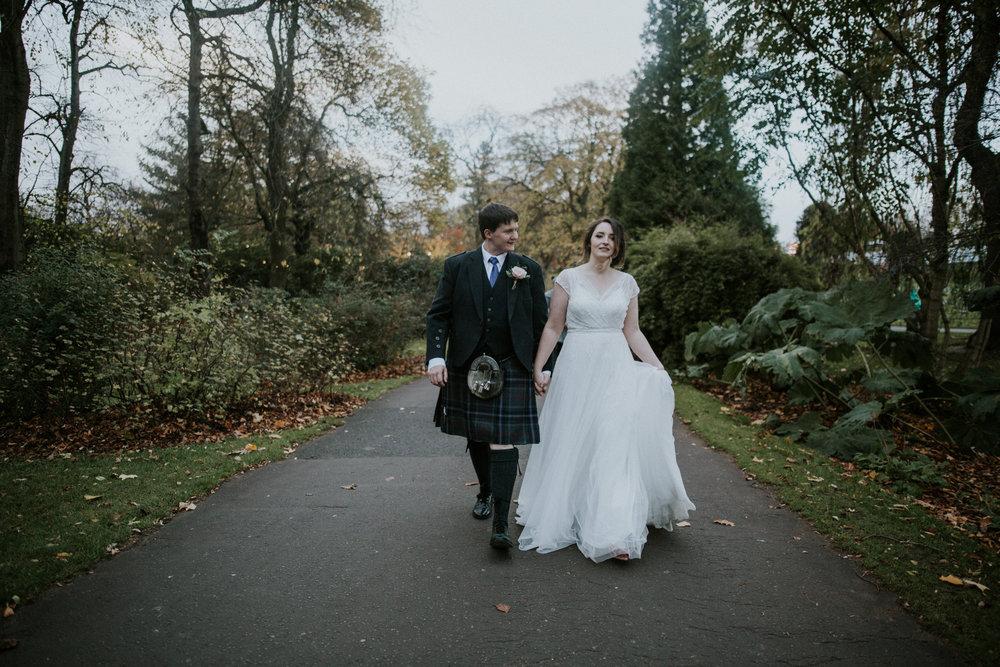 Glasgow Fine Art wedding photographers
