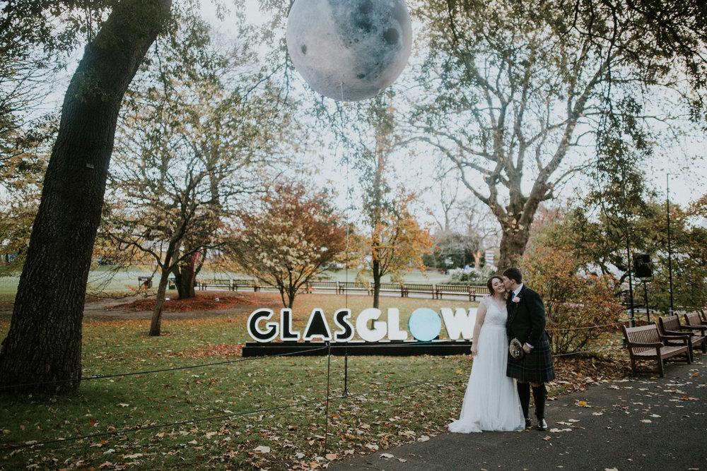 GlasGlow 2018 at the Botanic Gardens in Glasgow