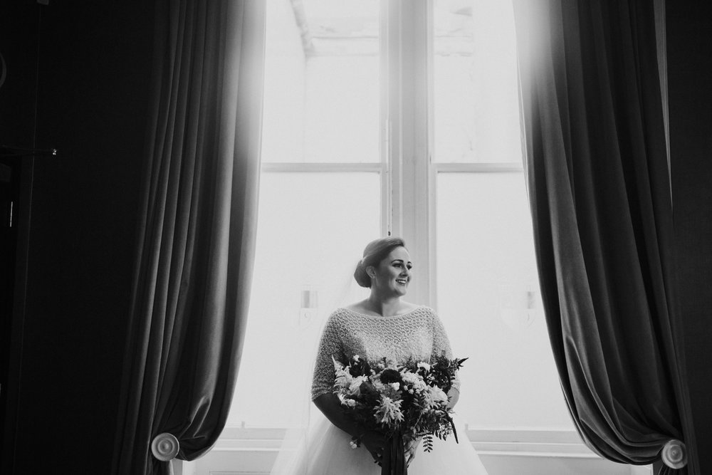 Bridal portrait at the 29 Private Members club