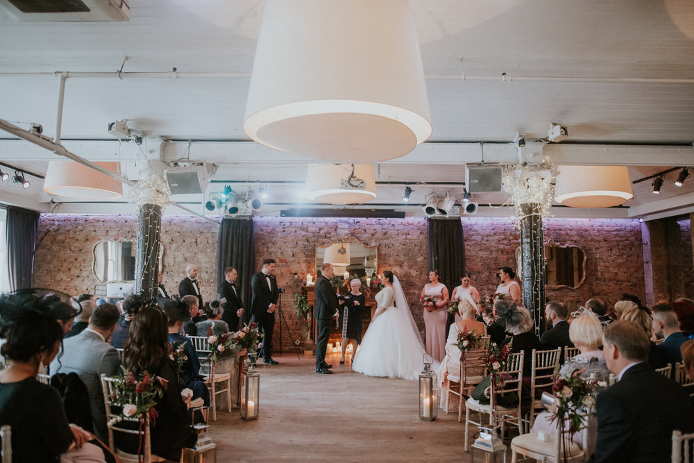 Documentary wedding photographer in Scotland with the authentic and cinematic style