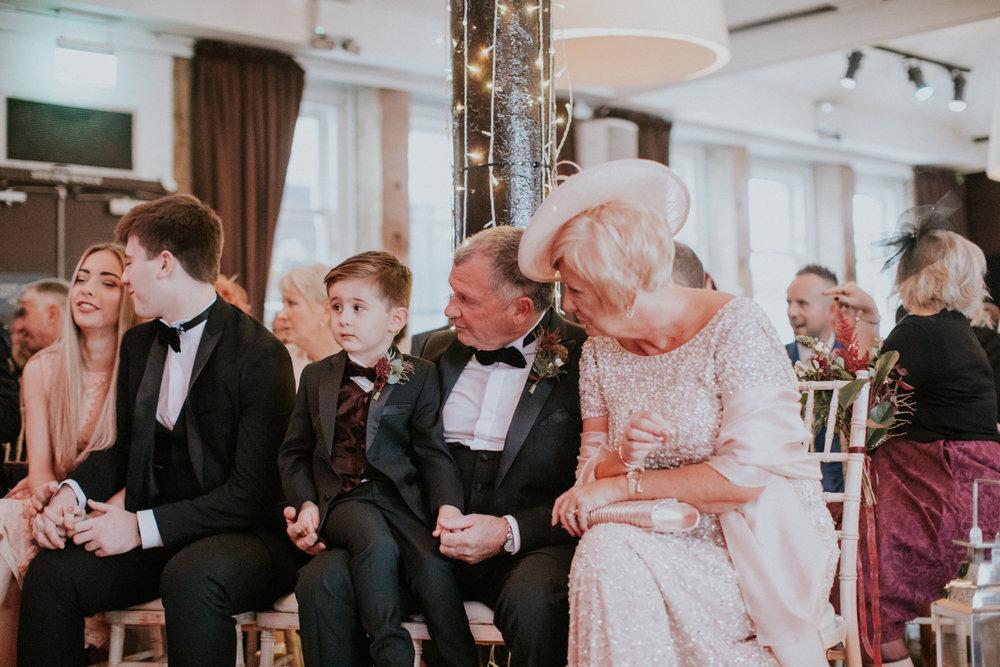 Children on weddings
