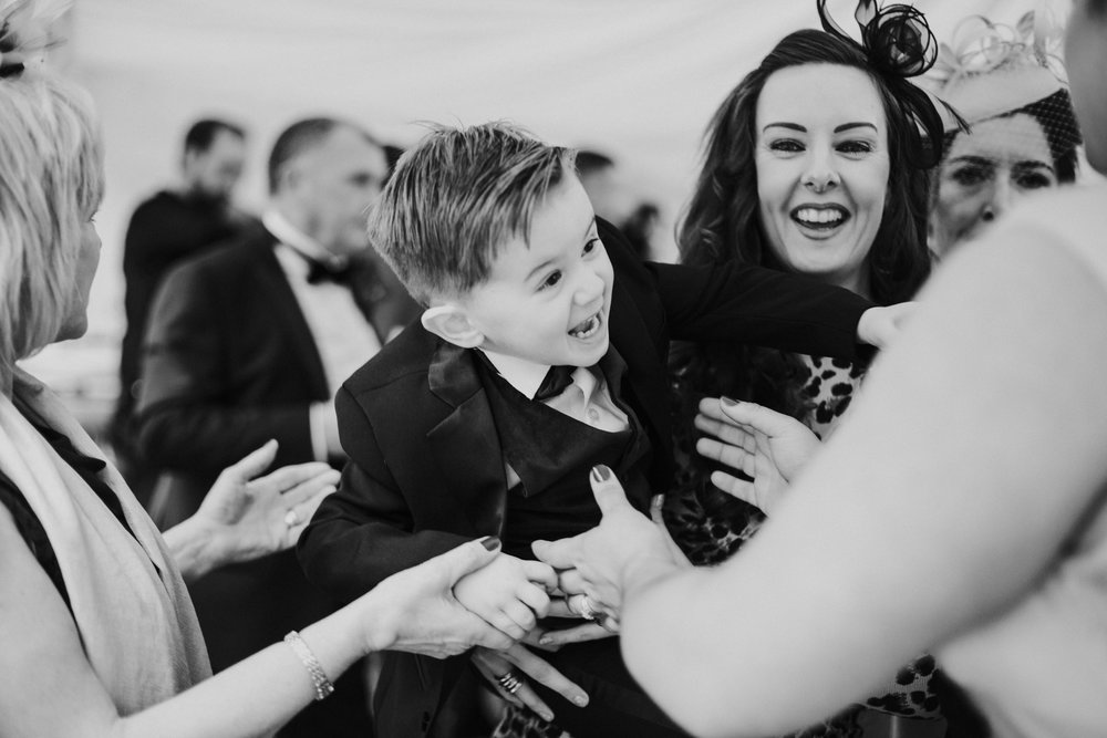 Natural wedding photography in Glasgow, Scotland