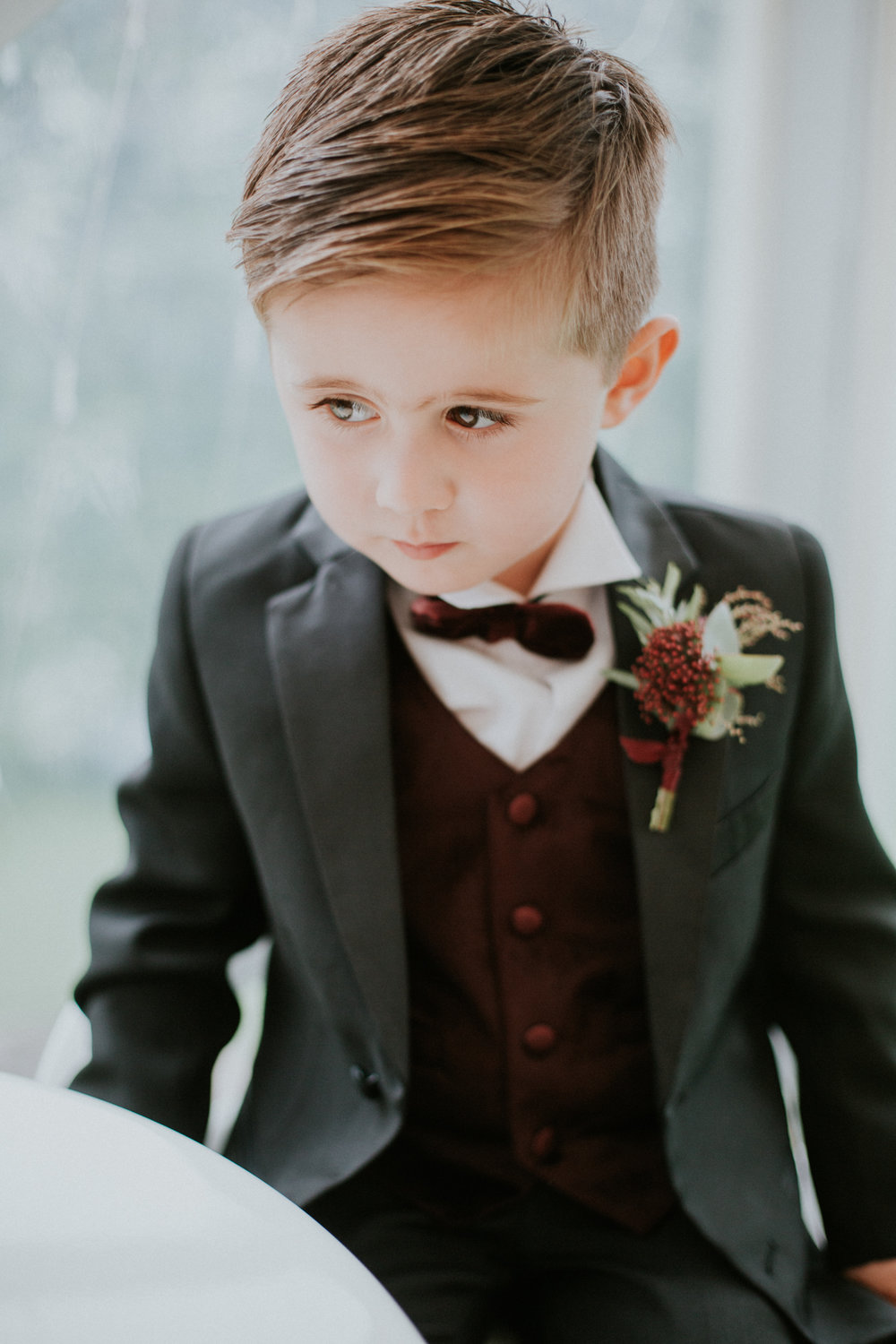 The portrait of the youngest son of the married couple