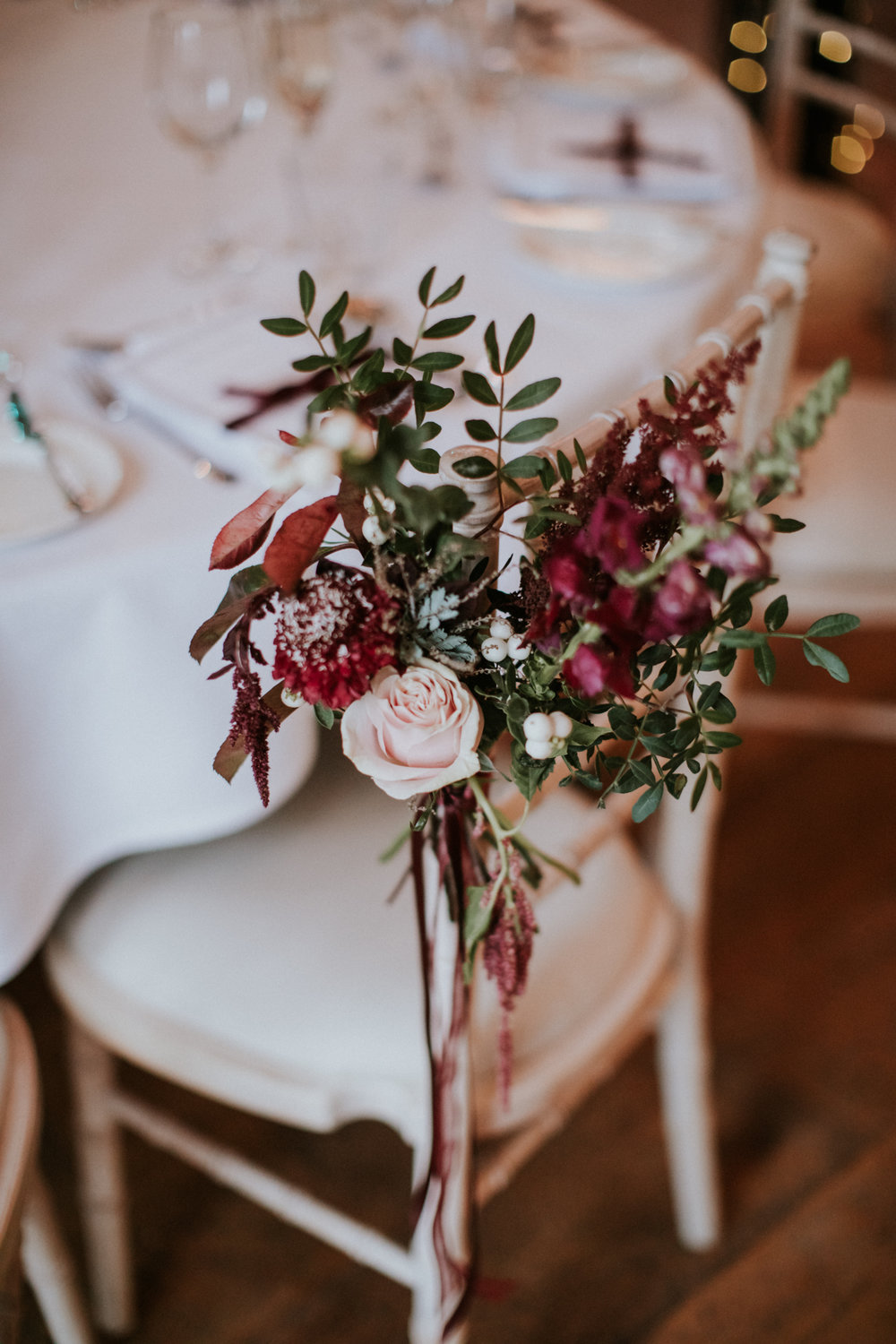 Flowers decor by the talented Floral Menagerie