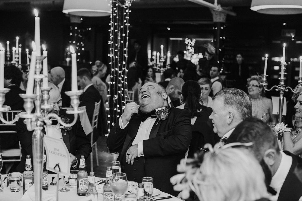 Professional wedding photographer at 29 Private members club Glasgow