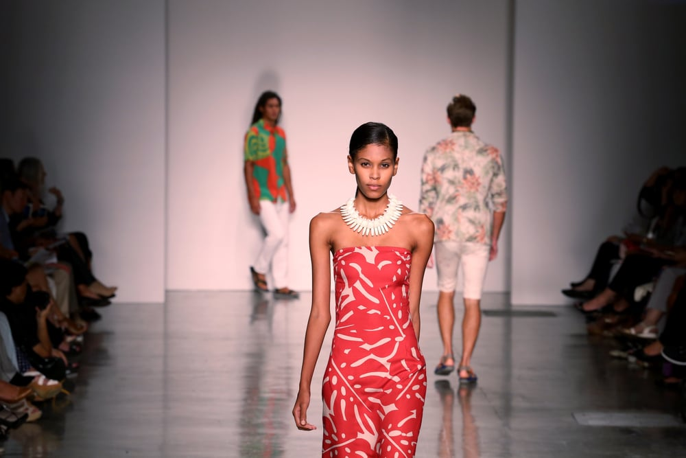 Rava Ray at Honolulu Fashion Week