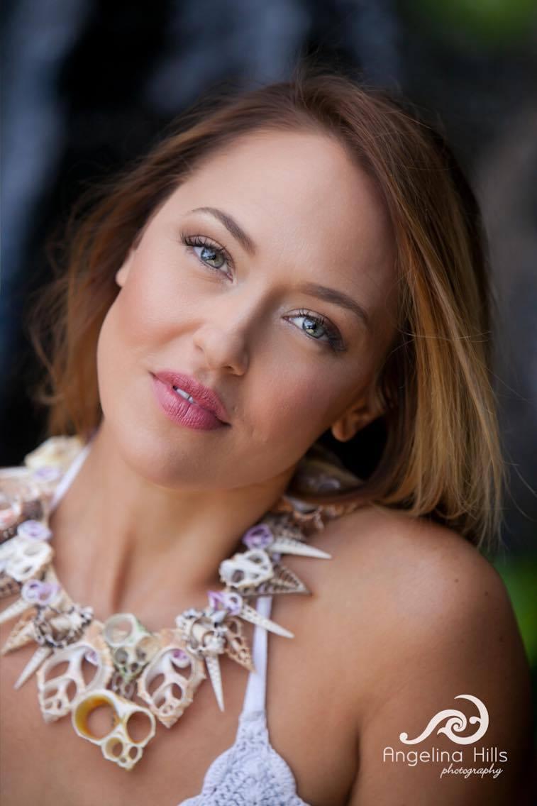 BUY NOW   Model:  Anuhea Jenkins   Stylist: Ralph Malani  Makeup: Meili Autumn  Photographer: Angelina Hills