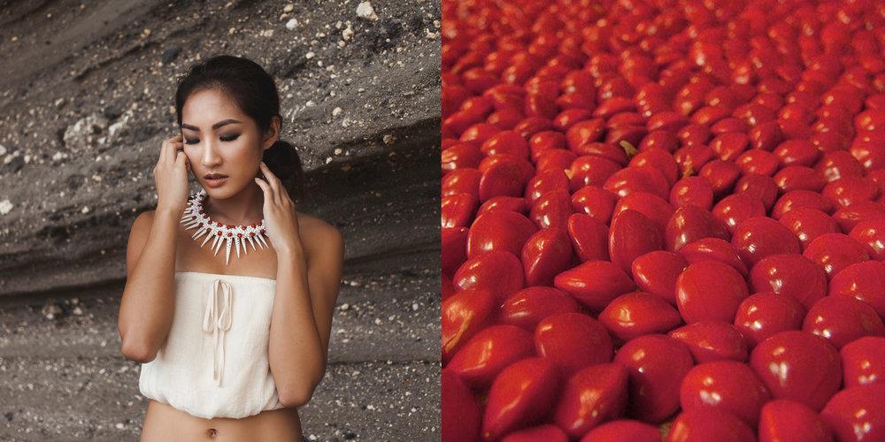 Photographer: Rachel Halemanu   Model: Boonyanuhd Jiyarom  Makeup: Bailee Nakaahiki  © 2017 Rava Ray