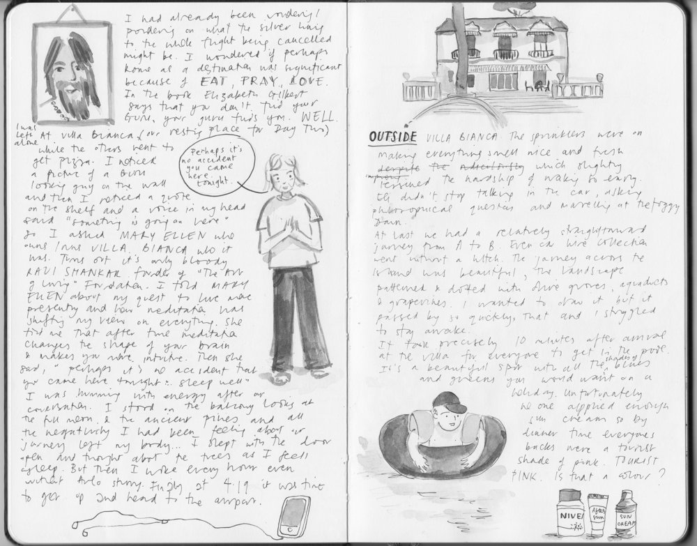 Illustrated journal about Sicily 2
