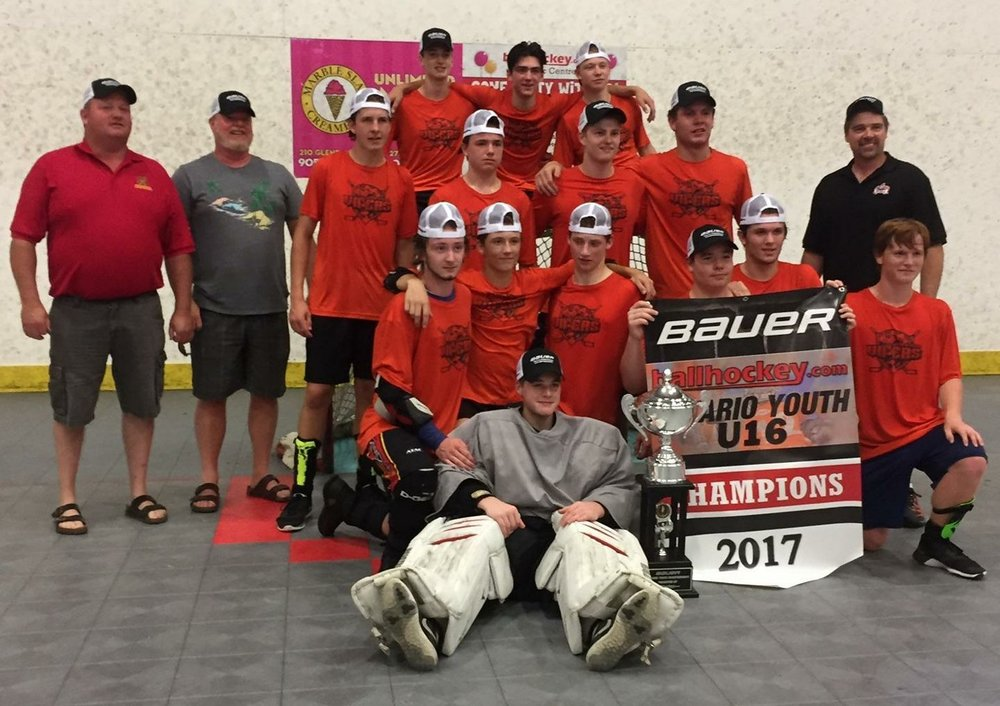UNDER 16 CHAMPIONS - BARRIE VIPERS