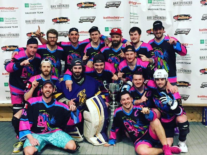 Men's B Champions - Stoney Creek Savages
