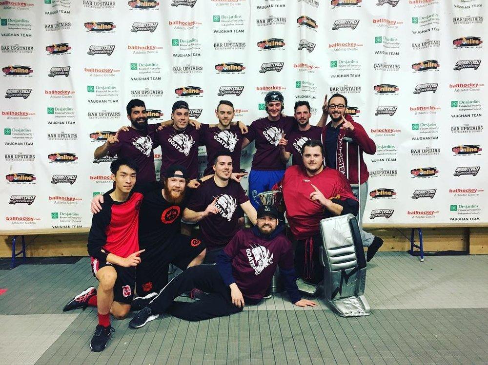 Men's C Champions - Goats