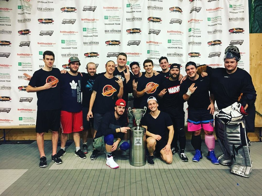 Men's D2 Champions - Merritton Shockers