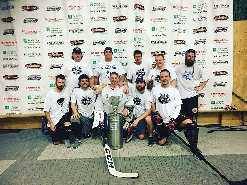 Men's Over 35 Champions - Beastie Boys