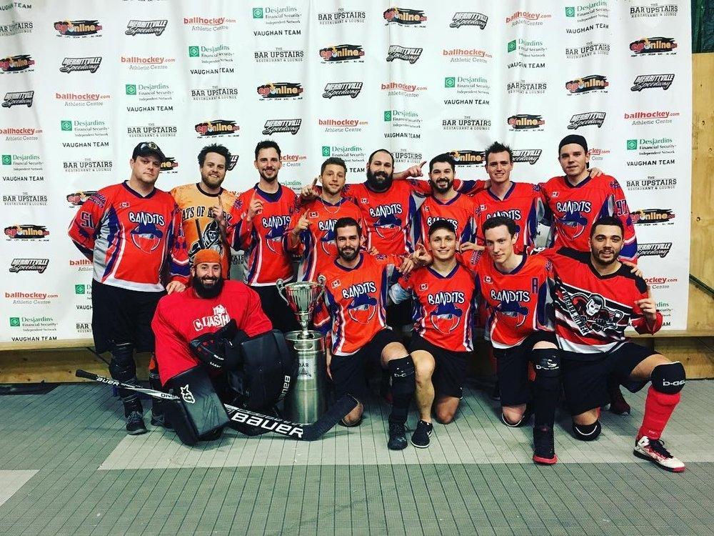 Men's D1 Champions - Bandits