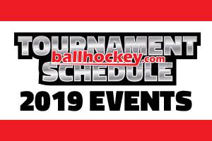 New Year New Tournaments 2019 Ballhockey Com Tournament Schedule