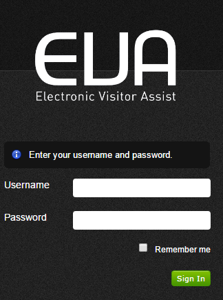 Figure 1: Administrator Console Login Screen