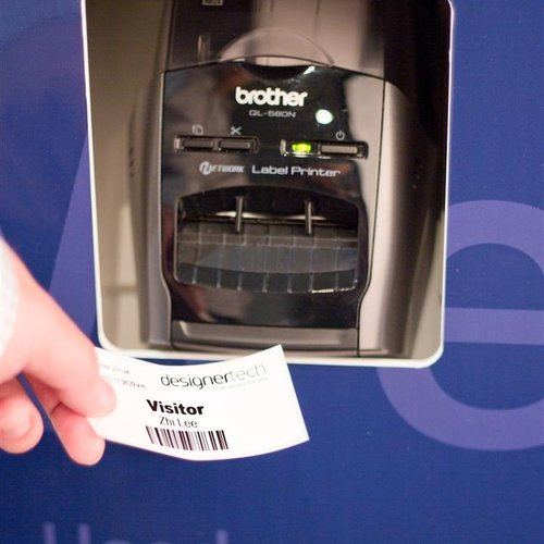 Label Printing and Scanning