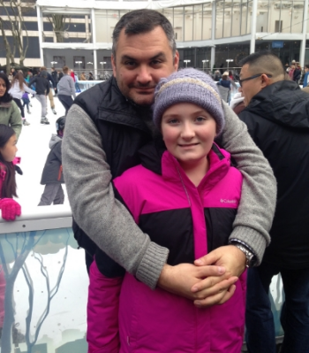 Daddy and Ella in NYC