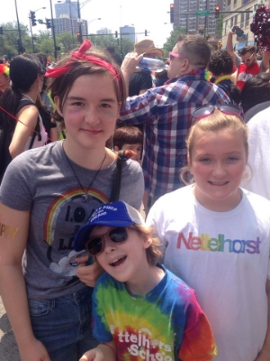 Pride Parade fun!
