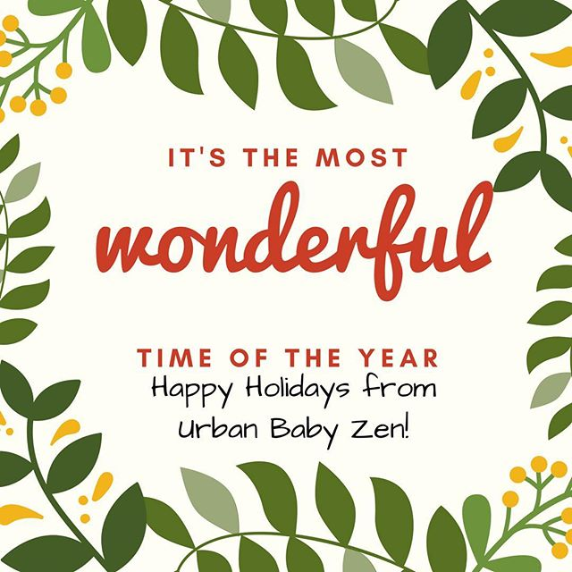 Wishing all of you much happiness and joy this holiday season!  #familytime #urbanbabyzen #infantmassagechicago #christmas2016 #chicagobaby