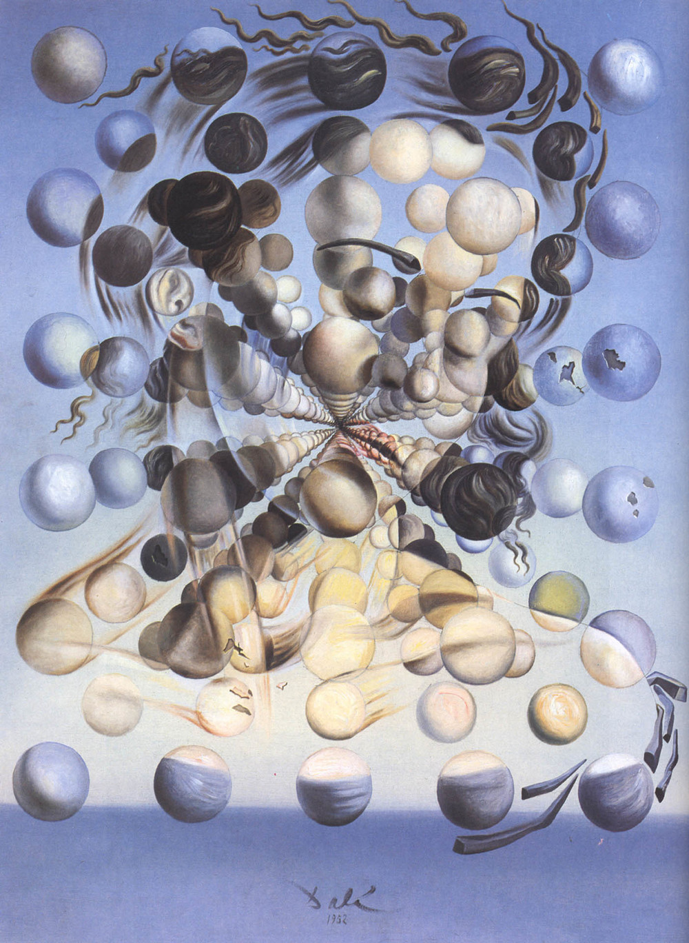 "Salvador Dali's ""Galatea of the Spheres"""