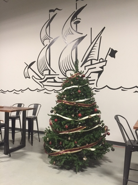 Columbia MD - Lost Ark Distillery Christmas Tree.JPG