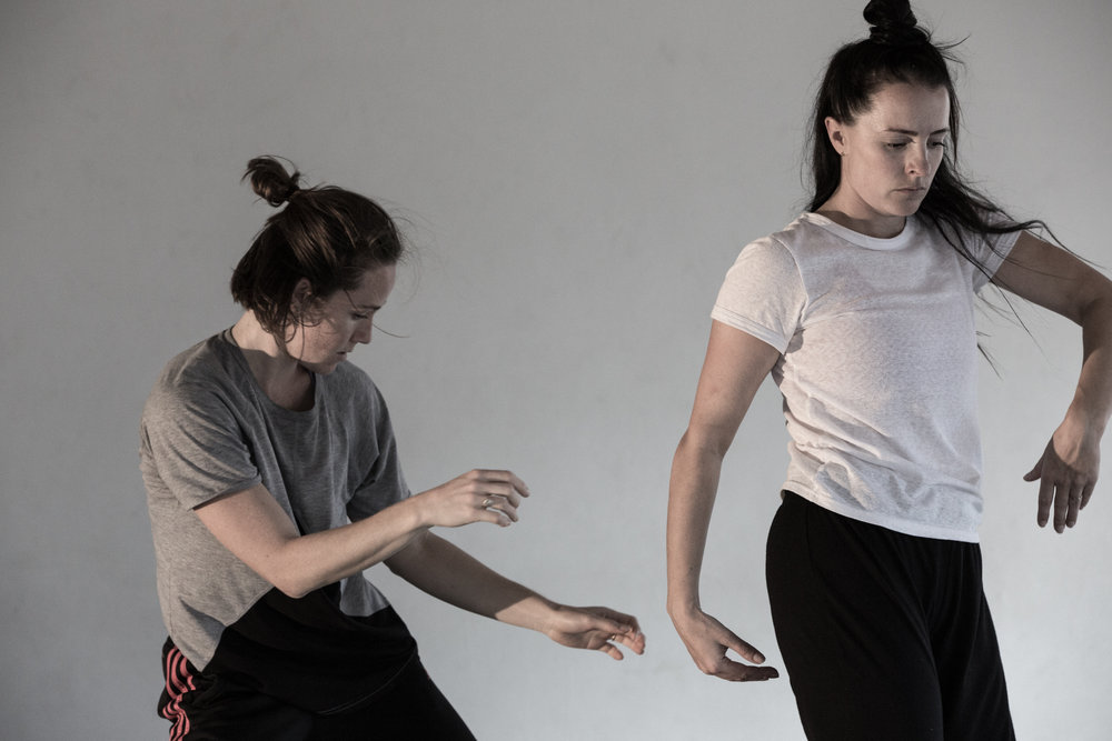 laura boynes & storm hellmore - 2018 Dance Residency