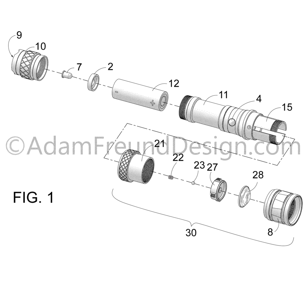 Final - Tactical flashlight utility patent drawing-01.png