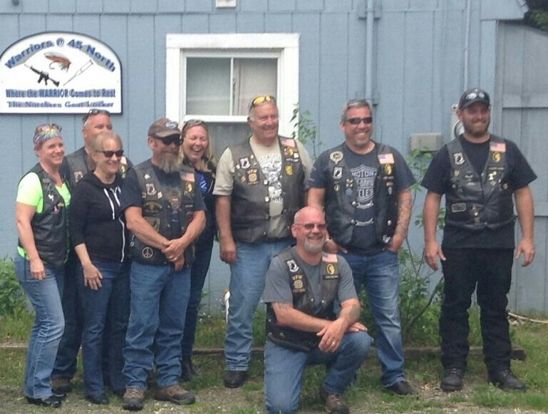 Merrimack NH Legion Riders at camp June 2017.