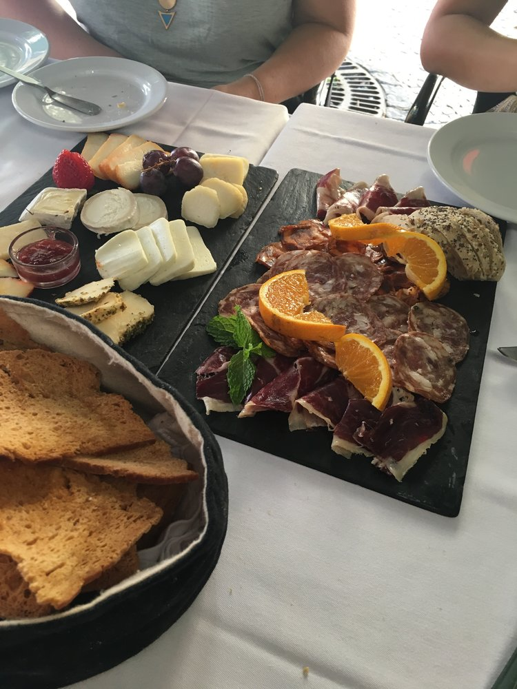kicking off a week in Portugal with meats and cheese, naturally.