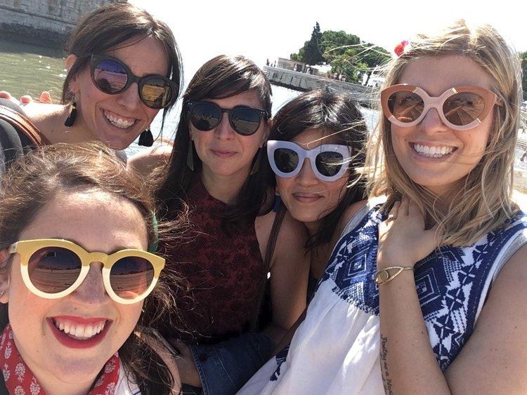 Deenie Hartzog Mislock friends Portugal